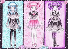 Little Lolita Girls by SilverChaim