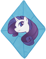 Rarity Diamond by flyingpiggie