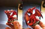 Skylanders: Custom Red Spyro by neilsugg