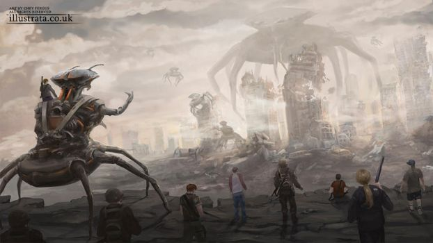 The Invasion by Chey-the-Illustrata