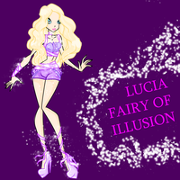 ADOPTABLE OC -LUCIA FAIRY OF ILLUSION by caboulla
