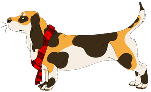 So British :Basset Hound: -closed- by SilenceMoonskin