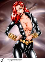 Black Widow 3 by Garrett Blair by Mythical-Mommy