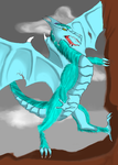 Blue Dragon (oldie) by Celtic-Tigeress