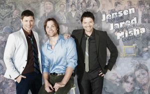 .: Jensen  Jared  Misha :. by LiFaAn