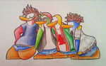 Penguin Band by Rico7817
