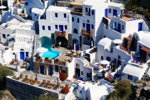 Santorini V by papadimitriou