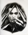 Edward Scissorhands by whitneyw