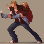 He Ain't Heavy/He's My Brother by Dredsina