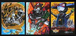 5FINITY: Voltron DE Card Set 4 by fbwash