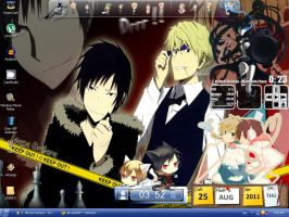 My Desktop of Awesome by vocaloid0120