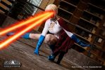 Powergirl Heatvision (Eve Beauregard) by adobeARTIST