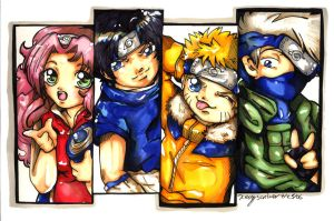 Naruto Chibi Series 1 CO by bastett