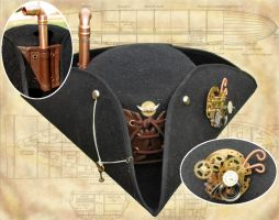 Steampunk 'Airship Captain's Hat' by Henri-1