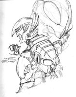 BWF Dinobot and Depthcharge by Billybosskeen