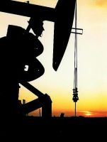 Pumpjack in Sunset by westtxphotographer