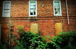 Side of the Abandoned House by PAlisauskas