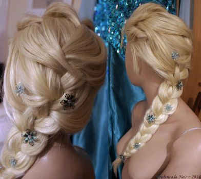 When Your Wig is Frozen - Elsa Style by Frederica-La-Noir