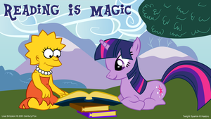 Reading is Magic by DigitalAlter