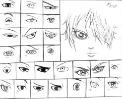Sketches Eyes by Angy89