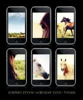 Horses iPhone WP Pack by solefield