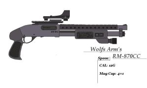 Wolfs Arm's RM-870CC by GriffinDogR34