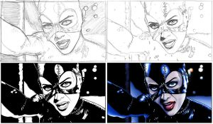 Catwoman Steps by TPollockJR