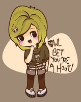 Owl bet you're a Hoot! by Abblecrumble