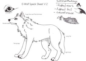 E-wolf Speck Sheet V.2 by BlackTailwolf