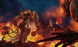 Diablo 3 Fan Art Contest: Marren- Bloody Crusade by daysoframpage