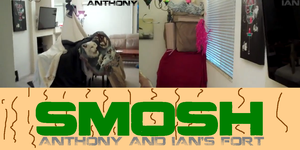 SMOSH Anthony and Ian's fort by samcollends