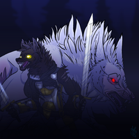 It's the Hour of the Wolf by DindellaTheDefender