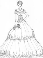 Modest Ball Gown by Jaeiyemm014
