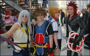 the gang - Kingdom Hearts by Na-Ruki