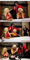Hellsing Cosplay: Did someone say Dessert? by Redustrial-Ruin