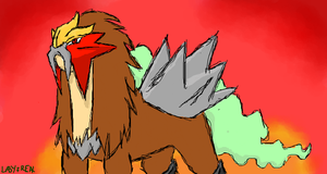 Entei by bluecowmonkey