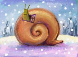 02 Snail by Bakenius