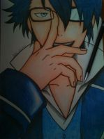 Saruhiko Fushimi~ It's Blue by haru4lavi