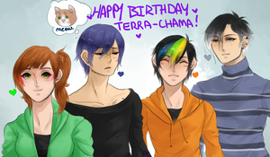 HAPPY BIRTHDAY BBY by Pharos-Chan