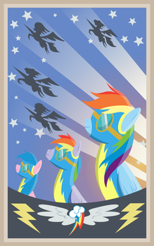 A Family of Wonderbolts by MakinBaconPancakes
