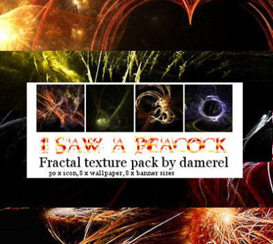 Textures: Fractal Pack by damerel