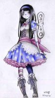 Object-Based Character Design - Clockwork Doll by mangarainbow