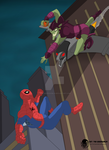 Spider-Man -  Come here by me Wallcrawler ! by The-GreenGoblin