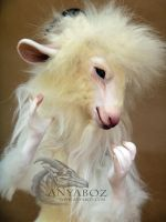 Angora Goat Room Guardian by AnyaBoz