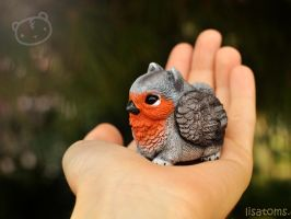 Robin pygmy griffin by LisaToms