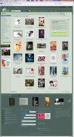 deviantART Homepage by lotring