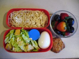 Bento in my new box by FliegenLicht