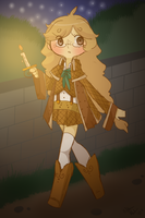 Detective Goldie by Ruhianna