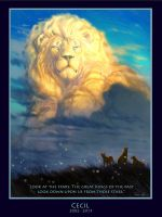 Cecil The Lion by ablaise