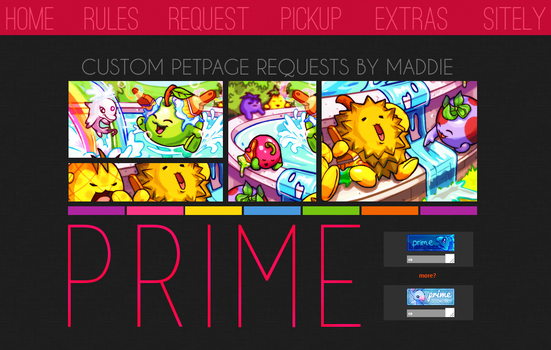 Prime layout v.7 by maddieover